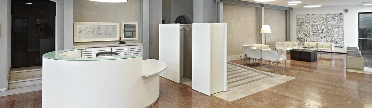Fondazione Bruno Kessler – Ingresso Sede Trento